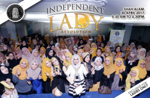 Fara LaiQa Seminar Independent Lady version 4.0